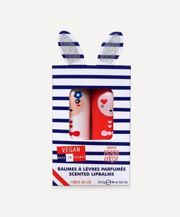inuwet - Bunny Lip Balm Paris Duo