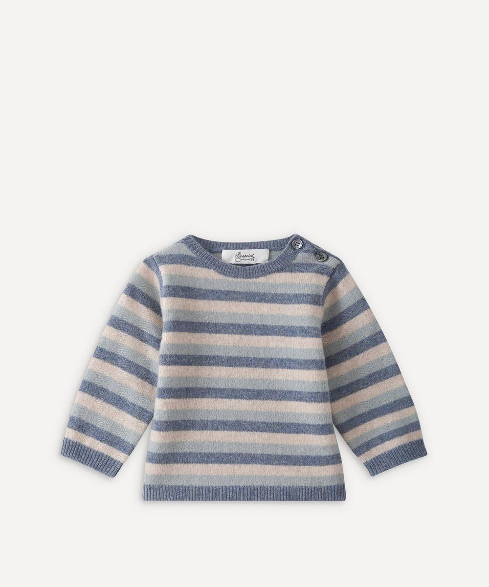 Bonpoint - Striped Merino Sweater 18 Months-2 Years