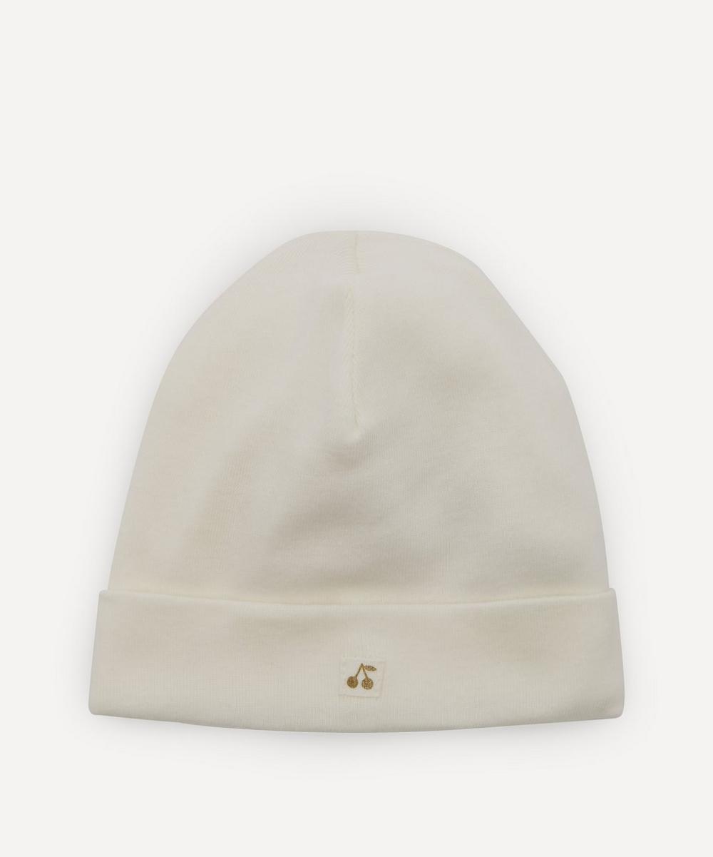 Bonpoint - White Cherry Hat