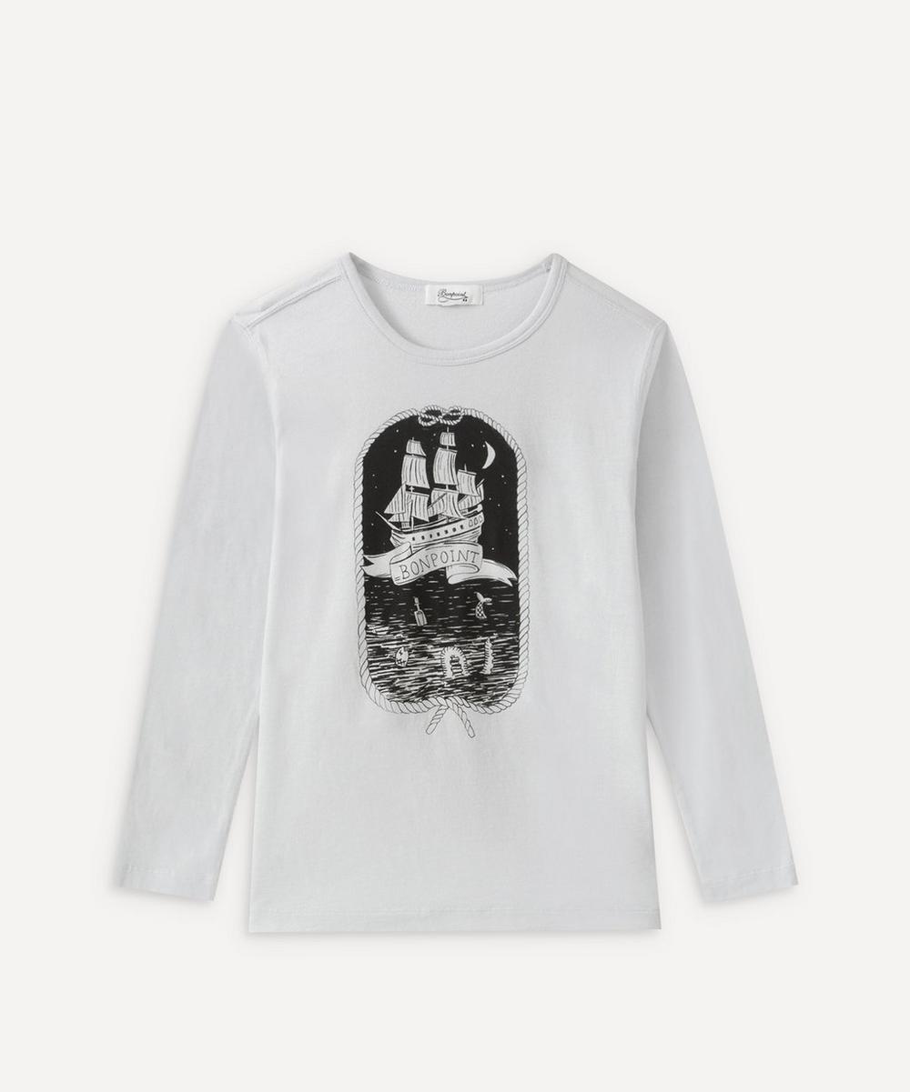 Bonpoint - Ship Long Sleeve T-Shirt 4 Years