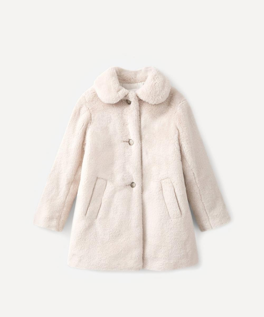 Bonpoint - Maisie Faux Fur Coat 6-8 Years