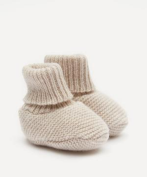 Cassidy Wool-Blend Baby Shoes