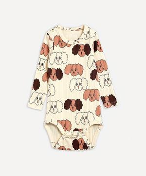 Fluffy Dog Wrap Body 3-18 Months
