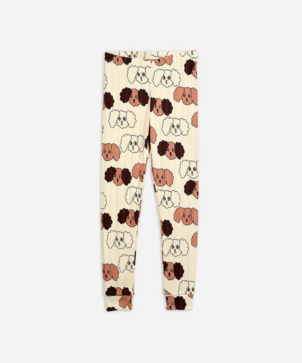 Mini Rodini - Fluffy Dog Leggings 3-18 Months