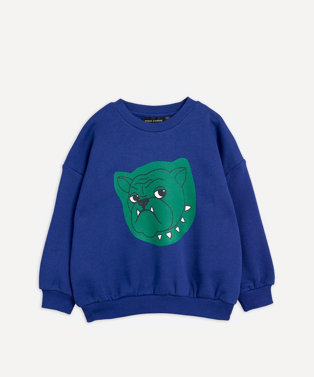 Mini Rodini - Bulldog Sweatshirt 2-8 Years