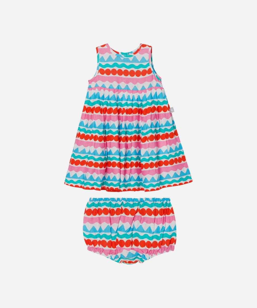 Stella McCartney Kids - Graphic Stripe Dress 3 Months-3 Years image number 0
