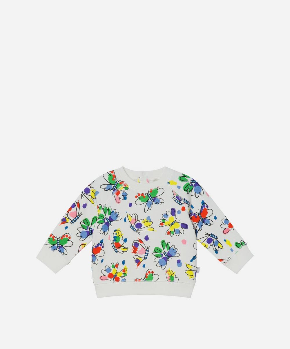 Stella McCartney Kids - Butterfly Sweatshirt 3 Months-3 Years