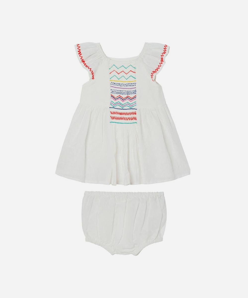 Stella McCartney Kids - Smock Detail Dress 3 Months-3 Years