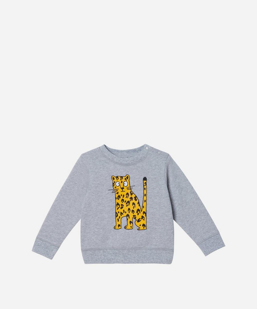 Stella McCartney Kids - Cheetah Sweatshirt 3 Months-3 Years