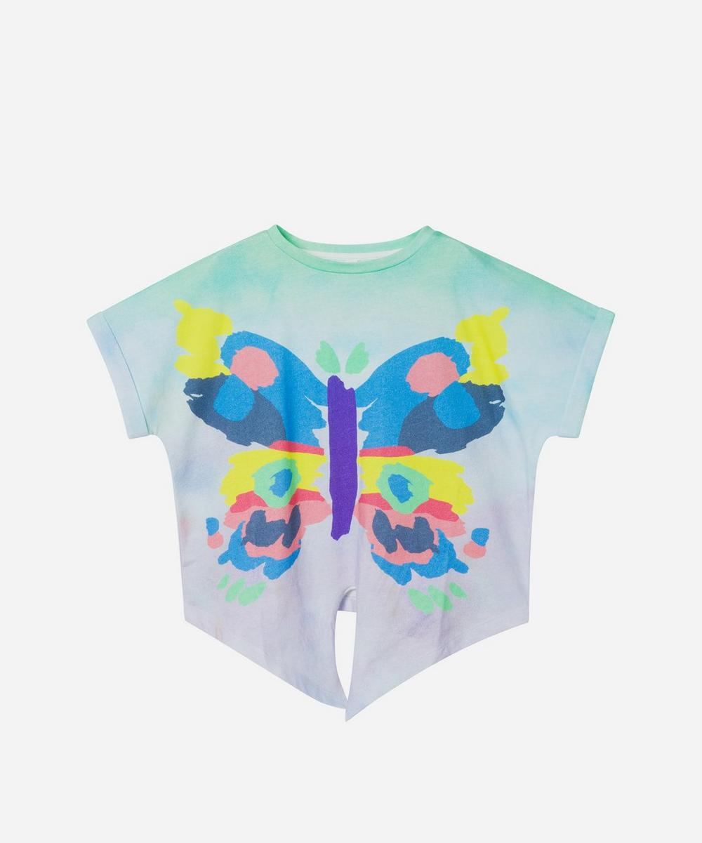 Stella McCartney Kids - Butterfly Short Sleeve T-Shirt 2-8 Years