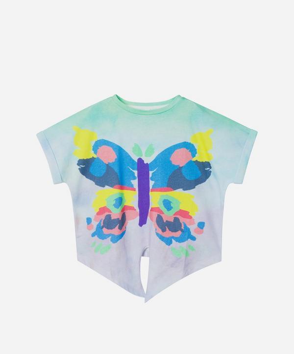 Stella McCartney Kids - Butterfly Short Sleeve T-Shirt 2-8 Years