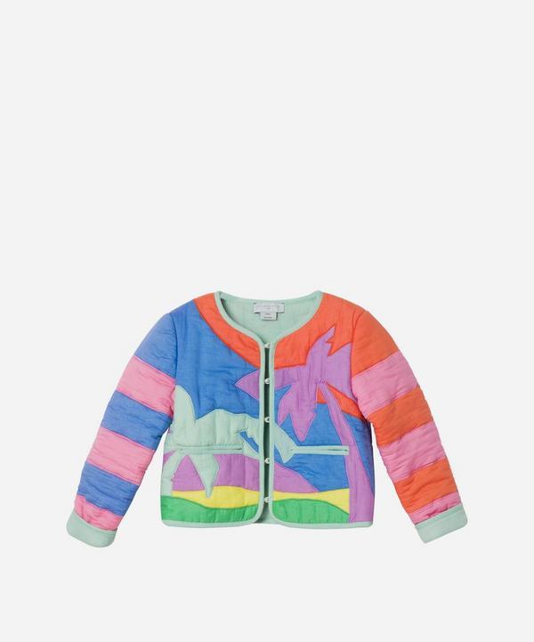 Stella McCartney Kids - Palm Patch Cotton Jacket 2-8 Years