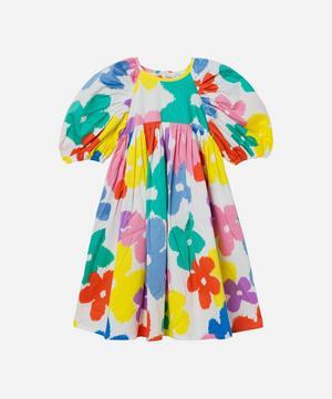 Flower Cotton Dress 2-8 Years