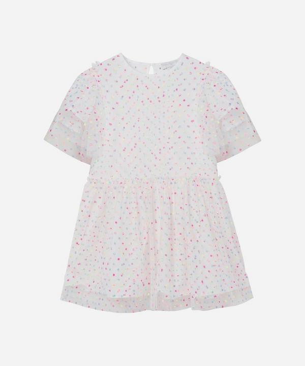 Stella McCartney Kids - Embroidered Dots Tulle Dress 2-8 Years
