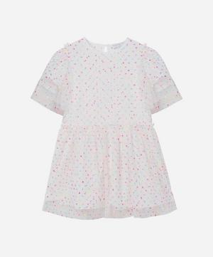 Embroidered Dots Tulle Dress 2-8 Years