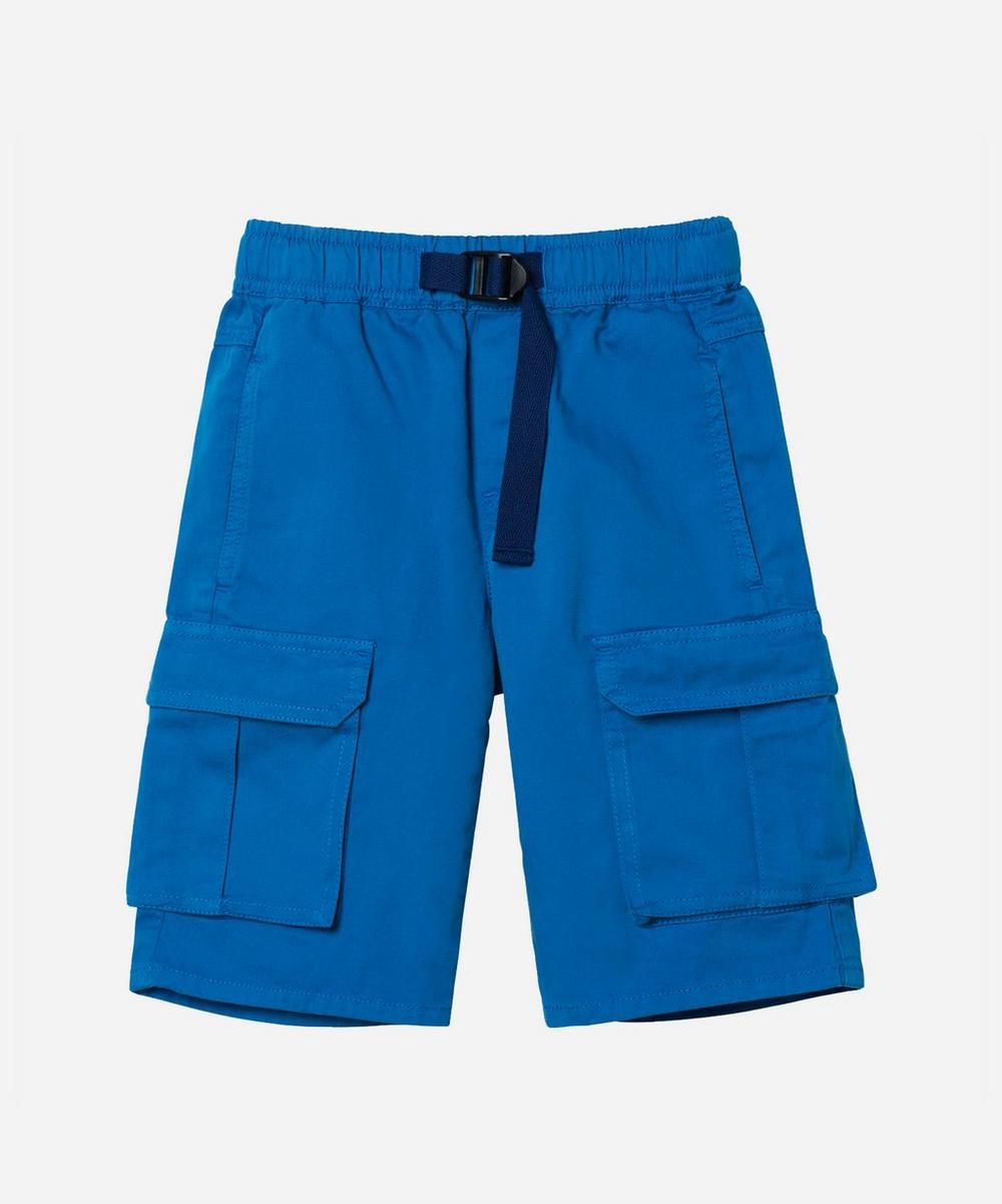 Stella McCartney Kids - Cotton Cargo Shorts 2-8 Years