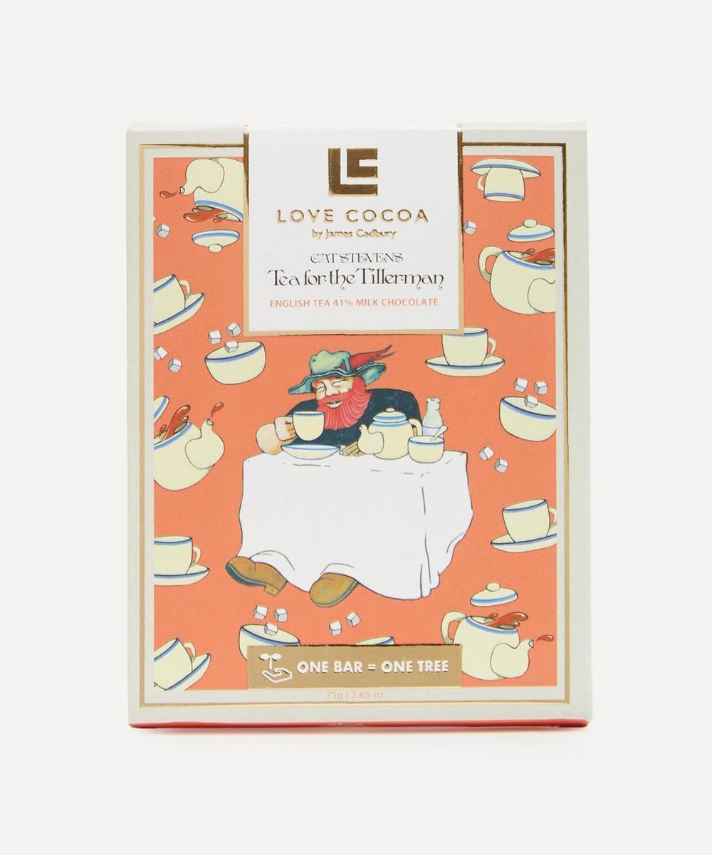 Love Cocoa - Cat Stevens Tea for the Tillerman Chocolate Bar 75g