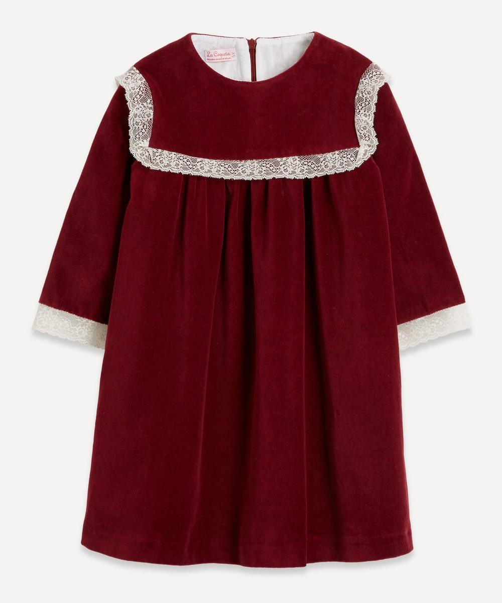 La Coqueta - Ruby Velvet Dress 2-8 Years
