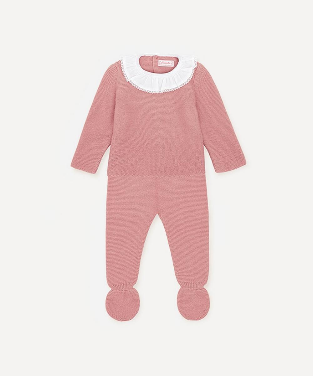 La Coqueta - Plumetti Knitted Set 0-24 Months