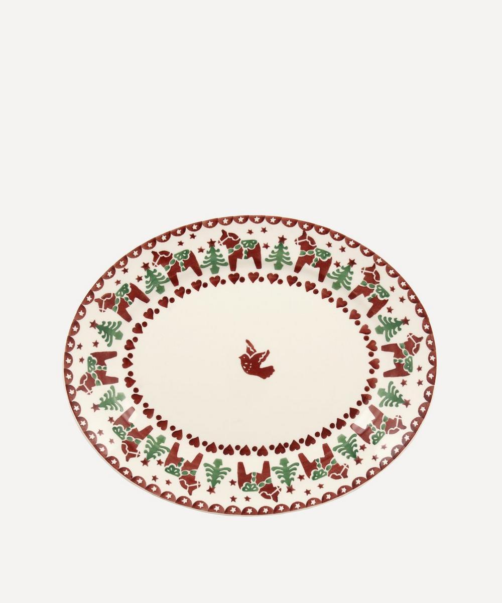 Emma Bridgewater - Christmas Joy Small Oval Platter