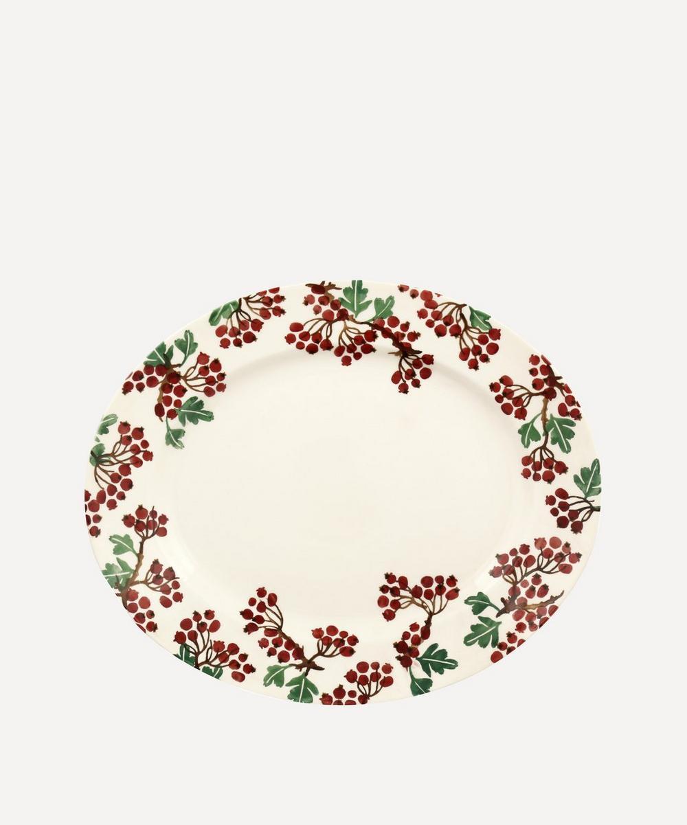 Emma Bridgewater - Hawthorn Berries Medium Oval Platter