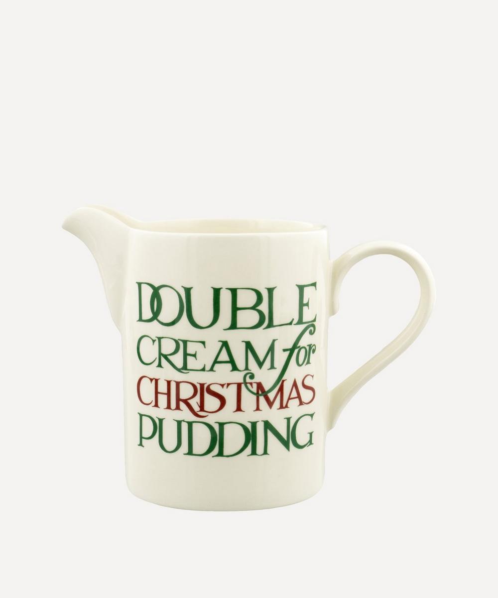Emma Bridgewater - Christmas Toast Double Cream Straight Jug