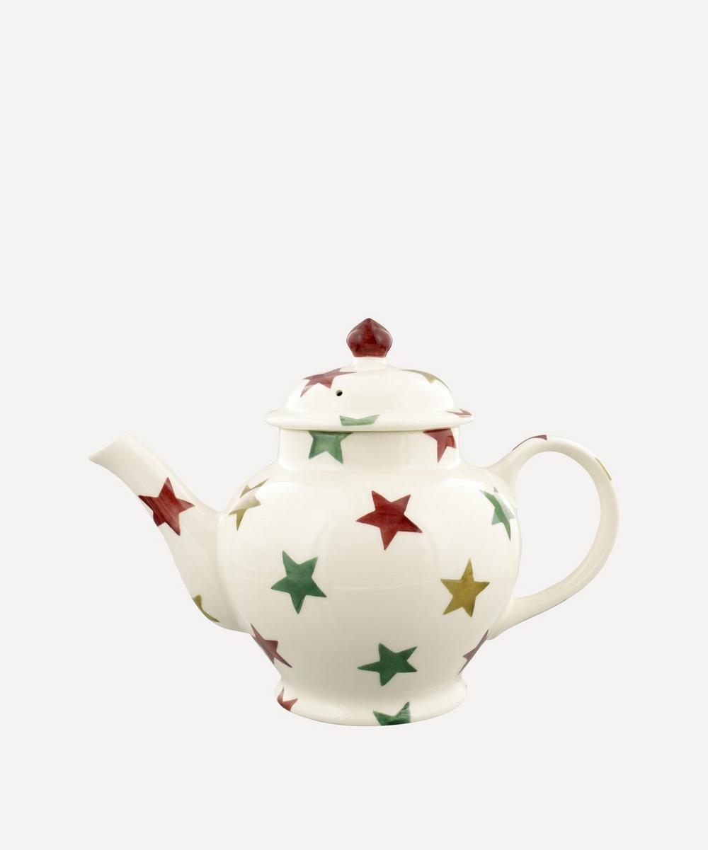 Emma Bridgewater - Stars Three-Mug Teapot