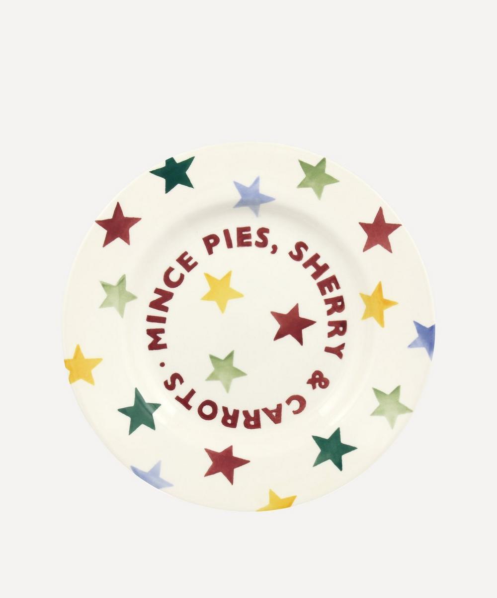 Emma Bridgewater - Polka Stars Mince Pies 8.5 Inch Plate