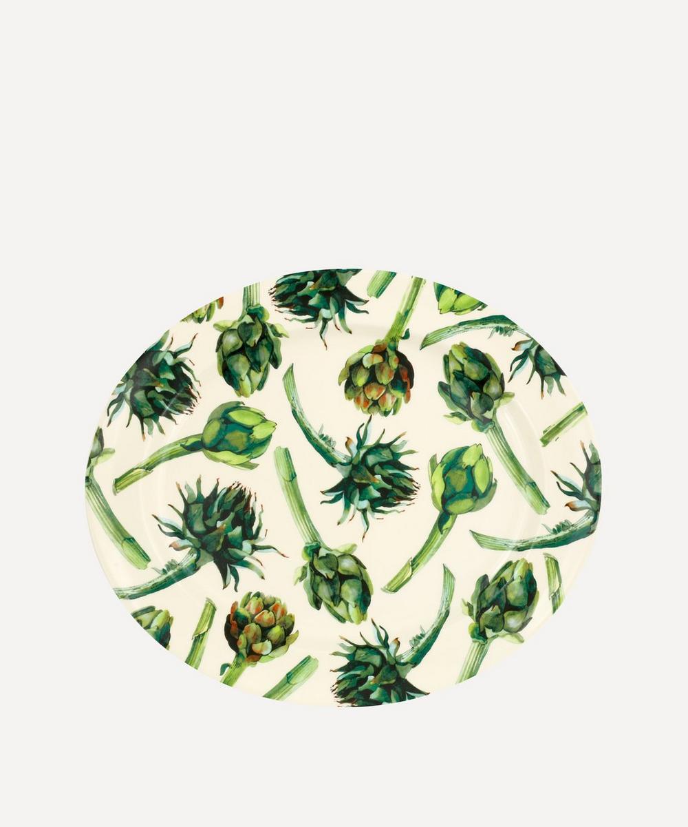 Emma Bridgewater - Vegetable Garden Artichoke Large Oval Platter