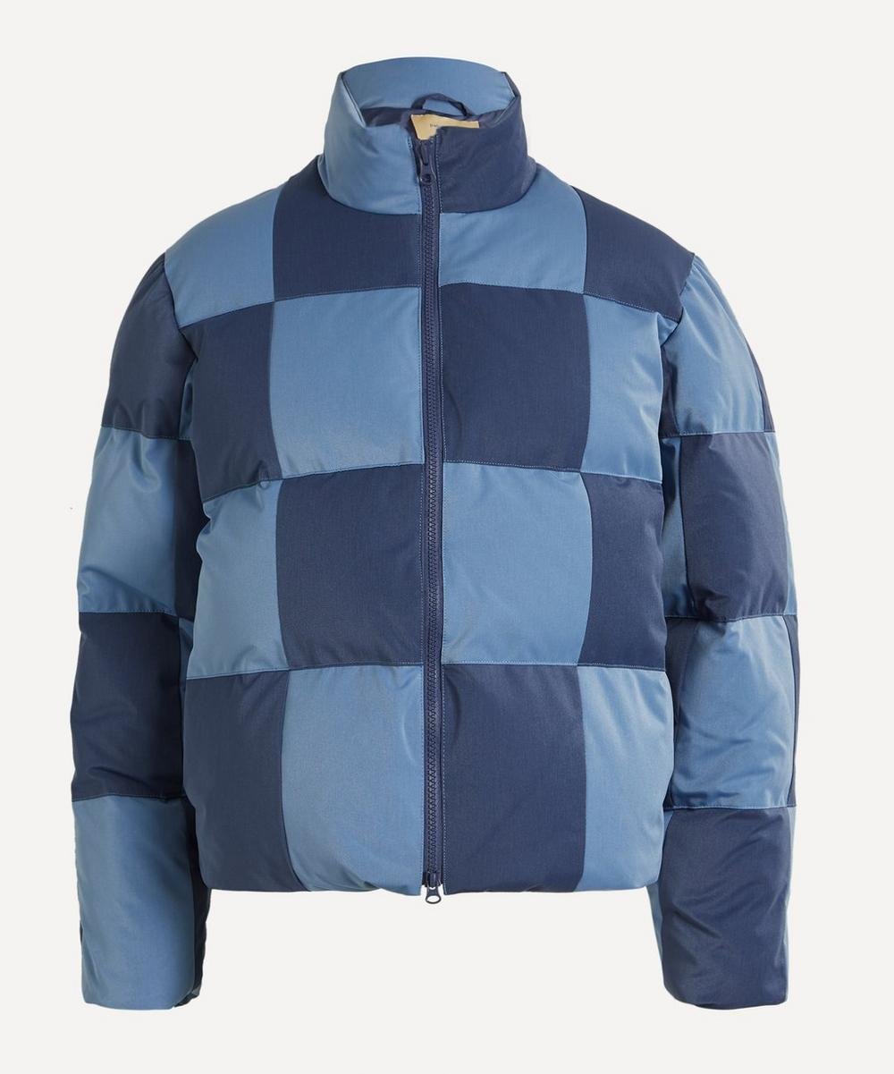 Paloma Wool - Buzz Checkered Puffer Jacket