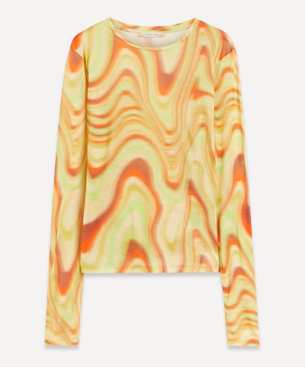 Paloma Wool - Dilema Ondas Locas Print T-Shirt