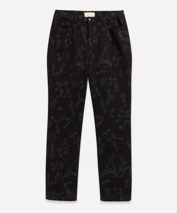 Paloma Wool - Veneno Germinados Print Straight-Leg Jeans