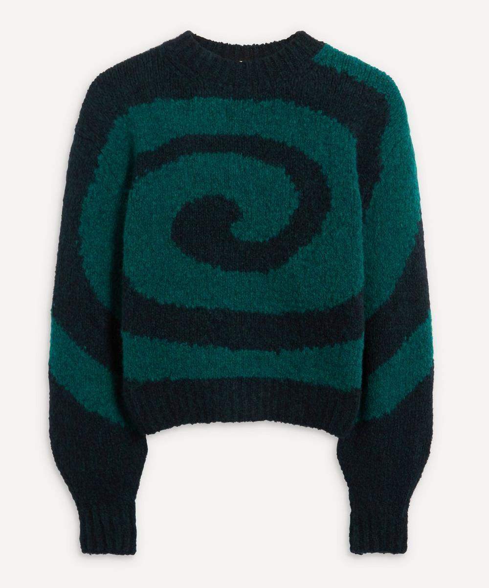 Paloma Wool - Twister Swirl Intarsia Knit Jumper