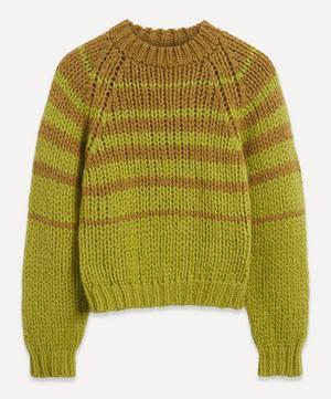Trance Stripe Wool-Blend Sweater