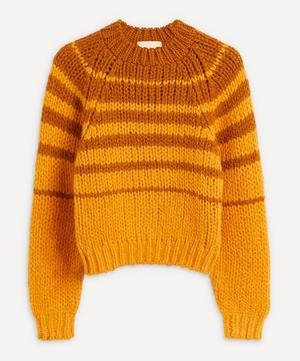 Trance Stripe Wool-Blend Sweater