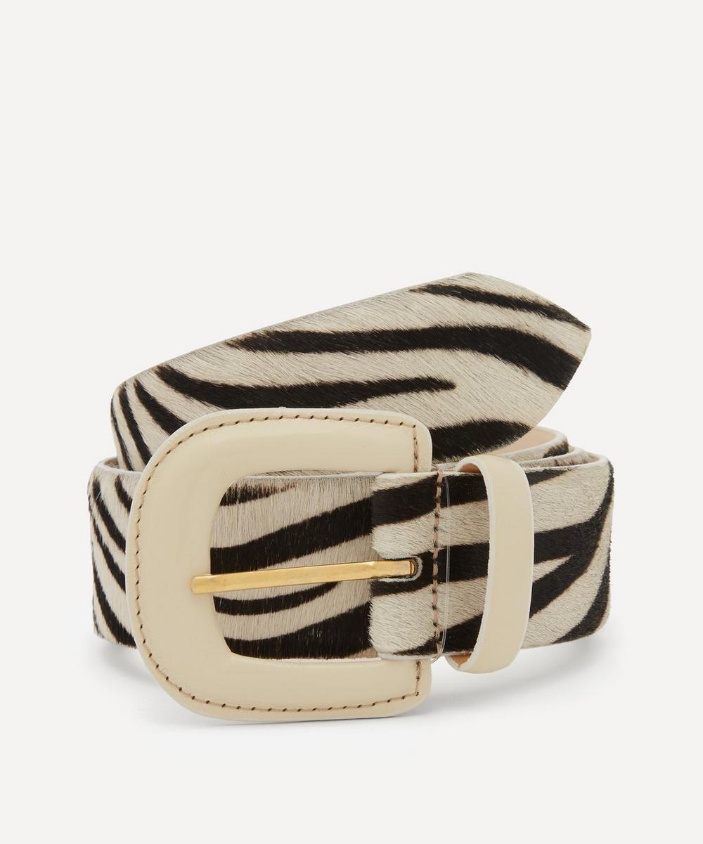 Paloma Wool - Scott Rounded Buckle Leather Belt