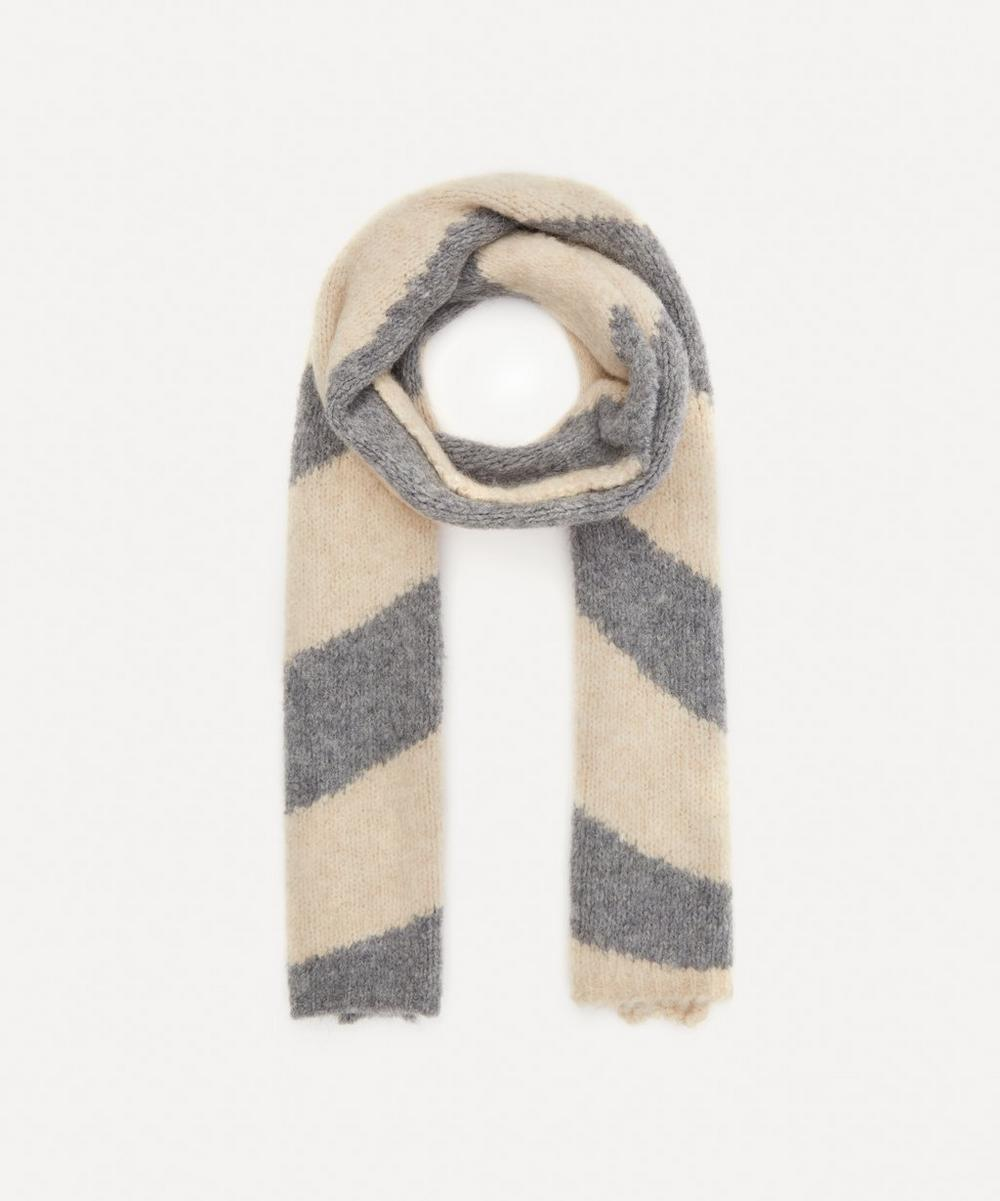 Paloma Wool - Dixit Swirl Intarsia Knitted Scarf