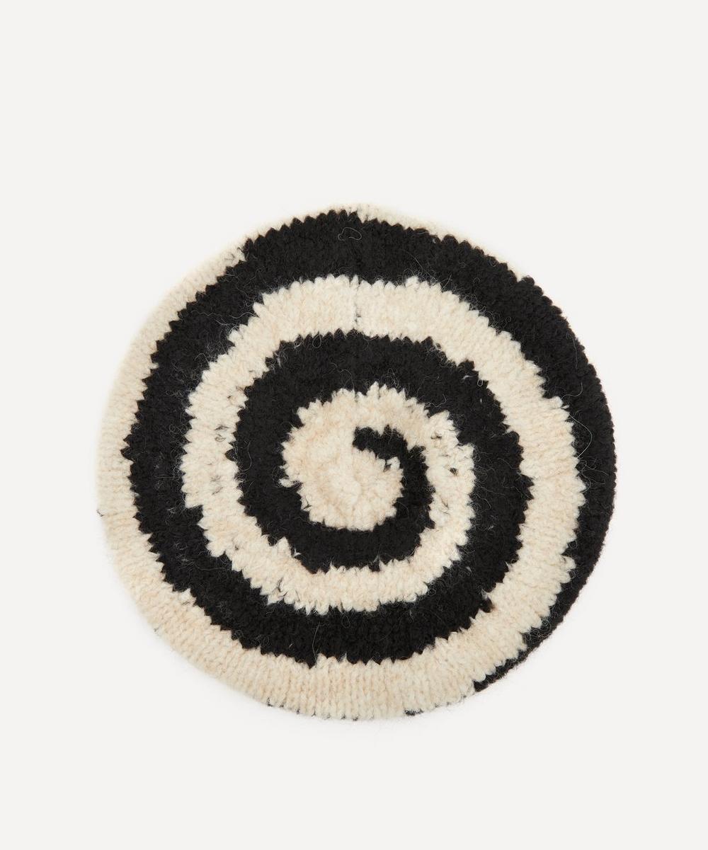 Paloma Wool - Cluedo Swirl Intarsia Knitted Beret