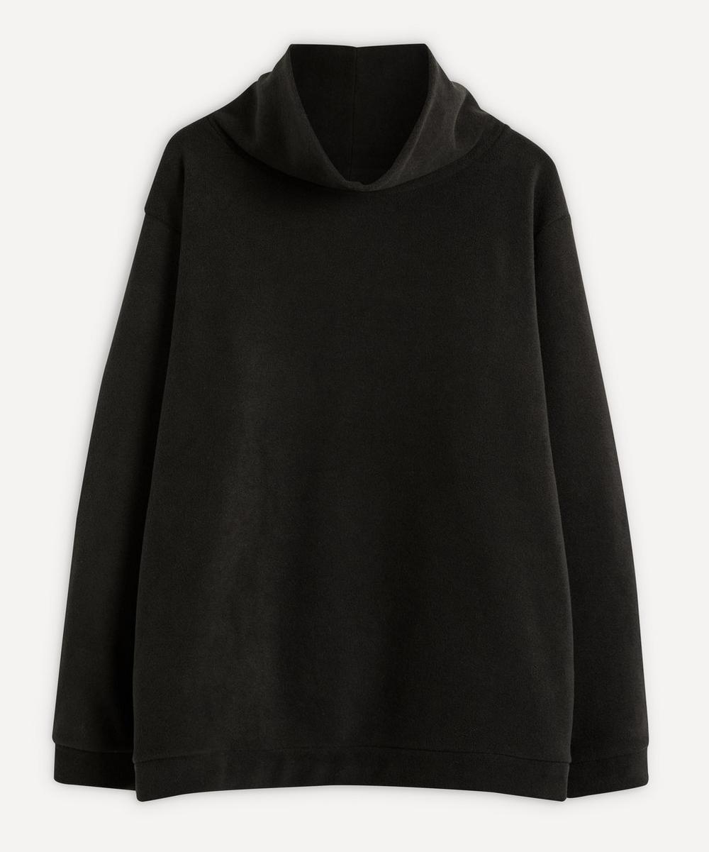 Kapital - Reversible Fleece High-Neck Sweater