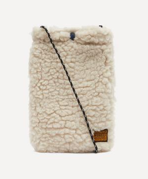 Boa Fleece Cross Body Bag