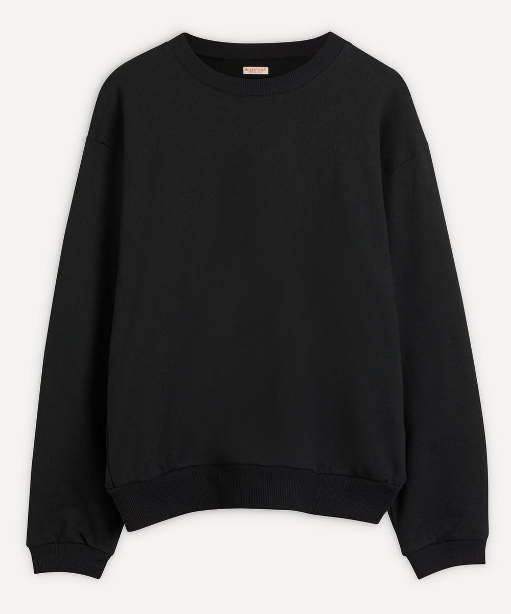 Kapital - Smiley Face Crew-Neck Sweater