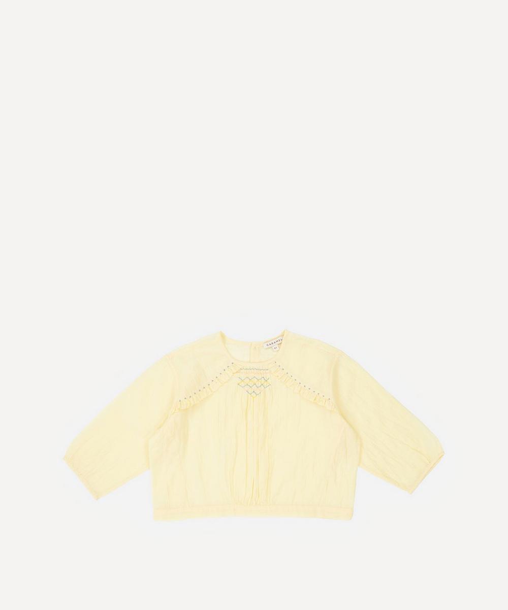 Caramel - Krill Baby Blouse 3-24 Months image number 0