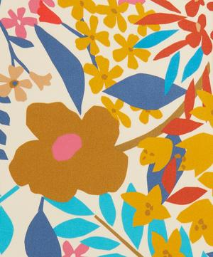 Papercut Petals Silk Satin