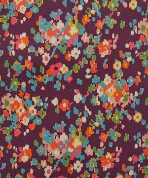 Paisley Flowers Silk Satin