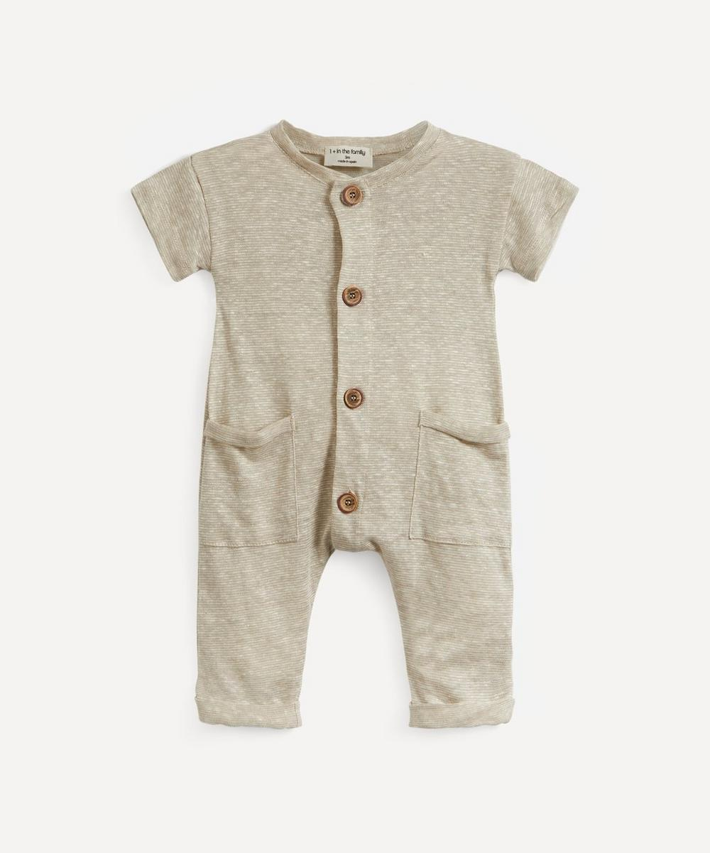 1+ In The Family - Enzo Jumpsuit 3-24 Months