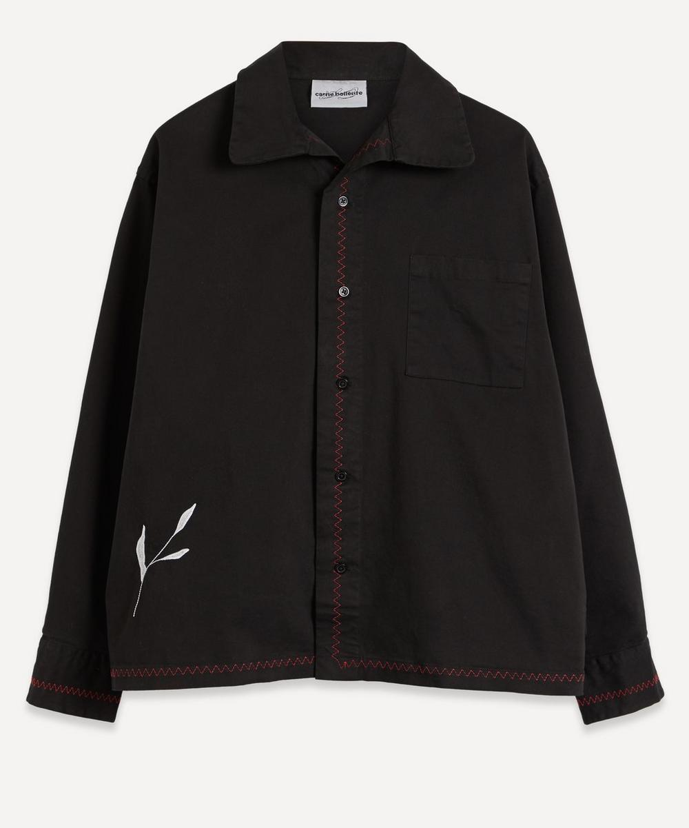 Carne Bollente - Taramiche Embroidered Back Overshirt