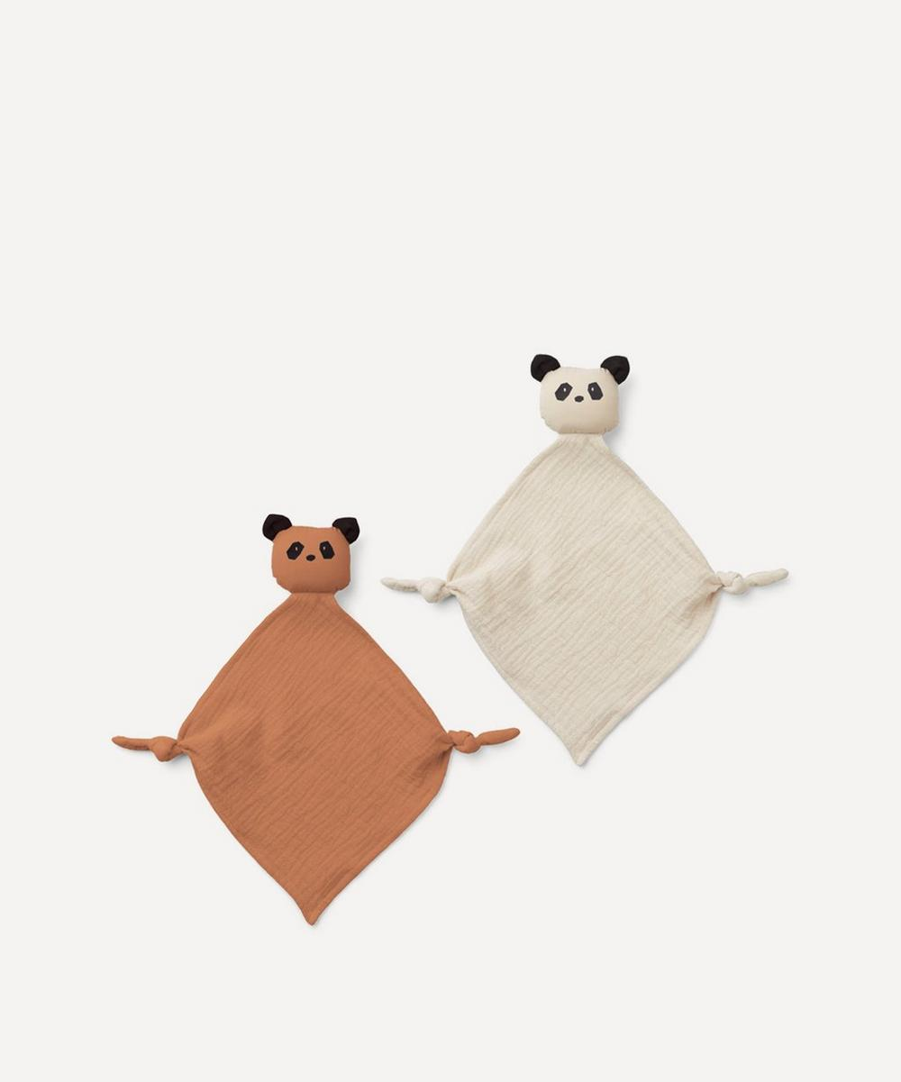 Liewood - Yoko Panda Cuddle Cloth 2 Pack