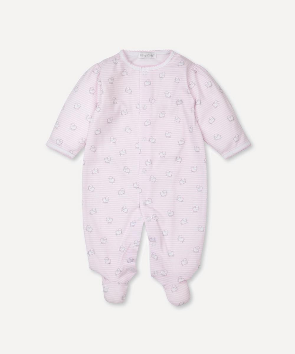 Kissy Kissy - Sheep Print Footie 0-9 Months