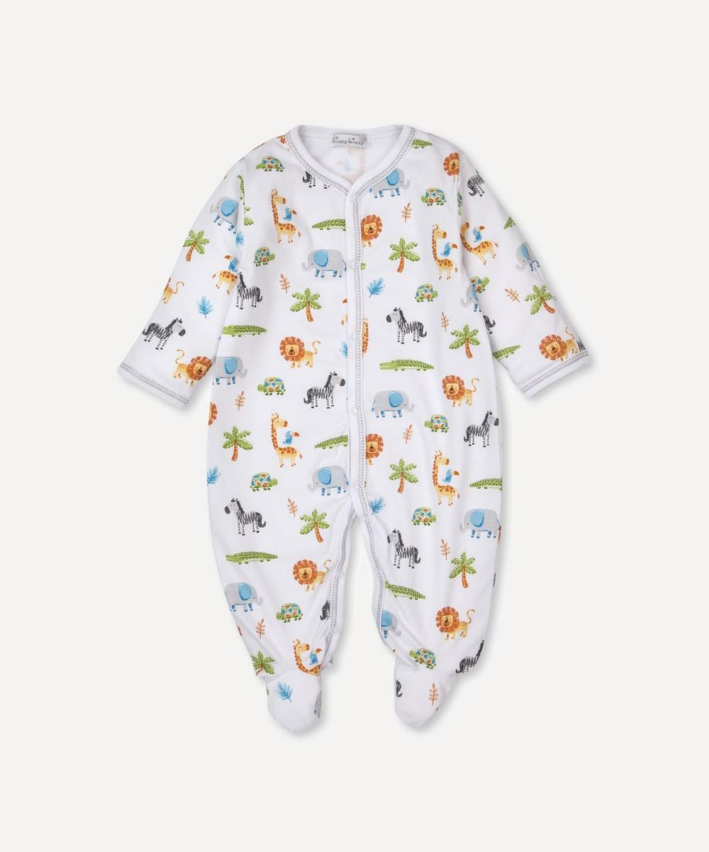 Kissy Kissy - Summer Safari Footie 0-12 Months