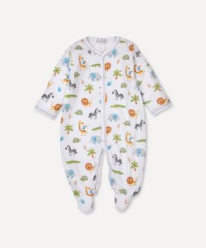 Summer Safari Footie 0-12 Months